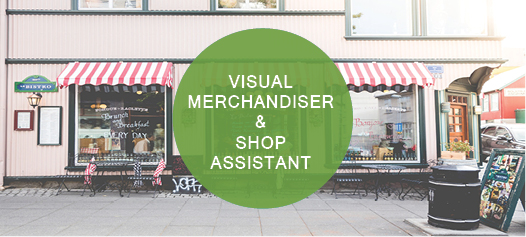 Visual Merchandiser & Shop Assistant