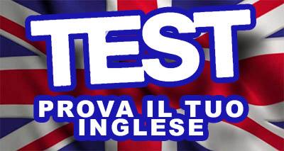 INGLESE TEST